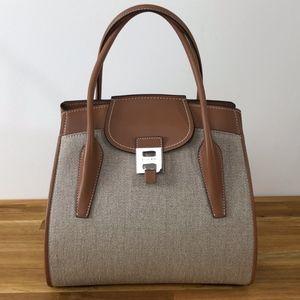 Michael Kors Collection Bancroft satchel leather